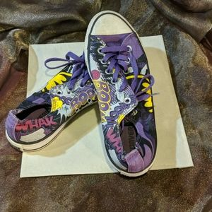 Converse All-star limited edition Batman sneaker.